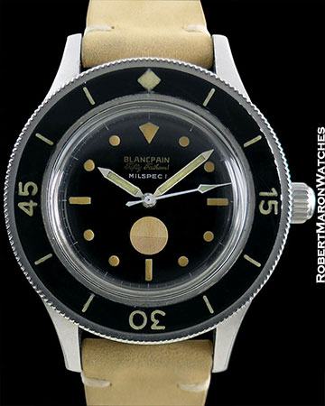 BLANCPAIN FIFTY FATHOMS MILSPEC EXTRACT++