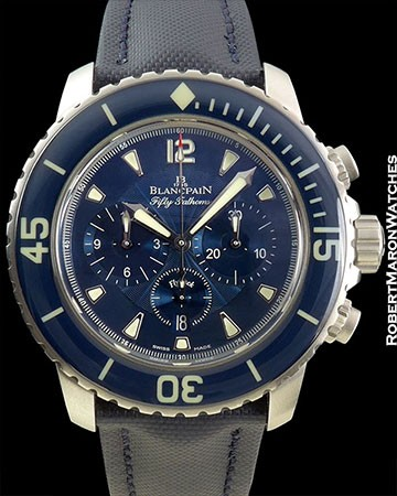 BLANCPAIN FIFTY FATHOMS BOX/PAPERS