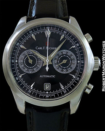 CARL F. BUCHERER MANERO STEEL CHRONOGRAPH 43MM