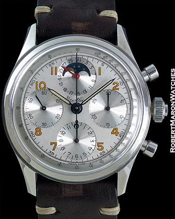 BREITLING REF 801 CHRONOGRAPH WITH MOONPHASE