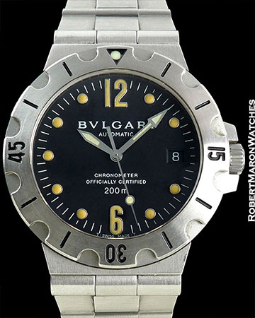 BULGARI REF SD38S DIAGONO AUTOMATIC