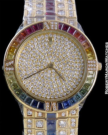 BULGARI UNIQUE RAINBOW PAVE