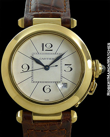 CARTIER PASHA 18K MINT