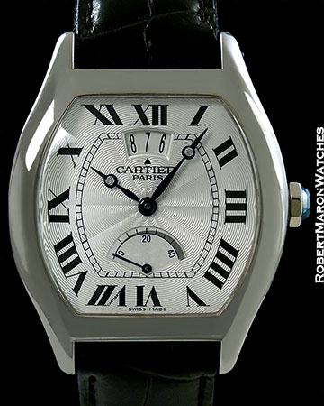 CARTIER COLLECTION PRIVÉE TORTUE POWER RESERVE 18K WHITE GOLD LIMITED EDITION