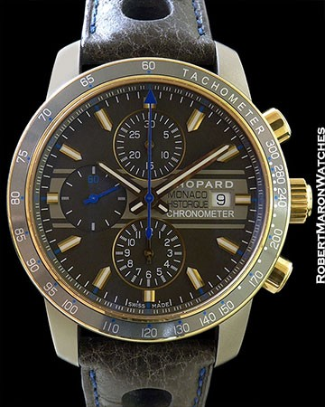 CHOPARD GRAND PRIX DE MONACO HISTORIQUE  TITANIUM AND 18K ROSE GOLD AUTOMATIC CHRONOGRAPH