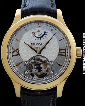 CHOPARD L.U.C 4T QUATTRO TOURBILLON 18K GOLD LIMITED EDITION