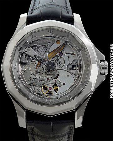 CORUM ADMIRALS CUP MINUTE REPEATER ACOUSTICA NEW W/BOX & PAPERS