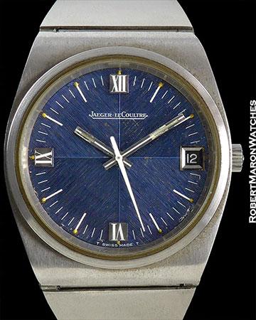 JAEGER-LECOULTRE REF 24000 CHRONOMETER BLUE DIAL