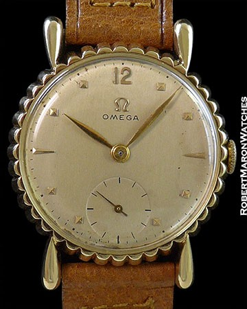 "OMEGA VINTAGE ""BOTTLE CAP"" 14K"