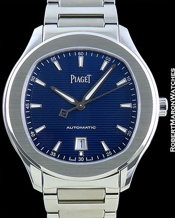 PIAGET POLO S STEEL BLUE DIAL