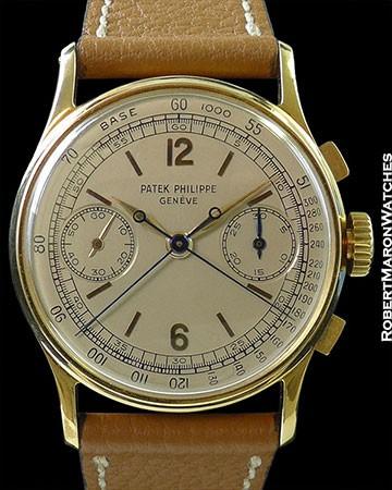 PATEK PHILIPPE 1436 18K SPLIT SECONDS CHRONOGRAPH