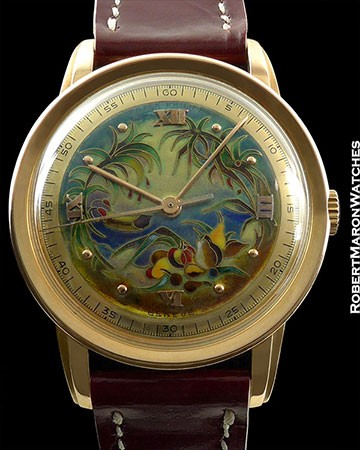 PATEK PHILIPPE 2481 JUNGLE CLOISONNE ROSE GOLD