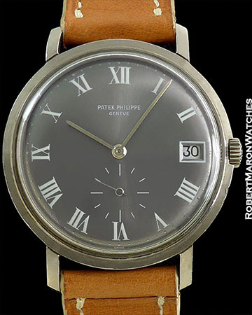PATEK PHILIPPE REF 2522 18K WHITE GOLD NOS INCREDIBLY RARE DIAL