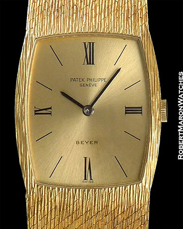 PATEK PHILIPPE REF 3528 GONDOLO BEYER 18K WITH BOX AND PAPERS