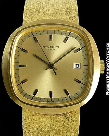 PATEK PHILIPPE 3587 1 BETA 21 UNPOLISHED 18K TWO-TONE GOLD DIAL