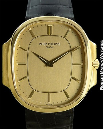 PATEK PHILIPPE NAUTILUS ELLIPSE 3770 18K BOX & PAPERS