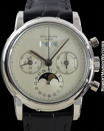 PATEK PHILIPPE 3970EP PROTOTYPE DIAL BOX/PAPERS PERPETUAL CHRONO