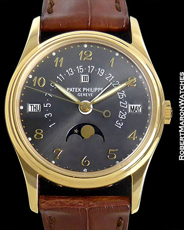 PATEK PHILIPPE REF 5050 J PERPETUAL CALENDER 18K BOX/PAPERS