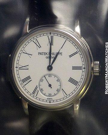 PATEK PHILIPPE 5078P AUTOMATIC MINUTE REPEATER ENAMEL DIAL NEW