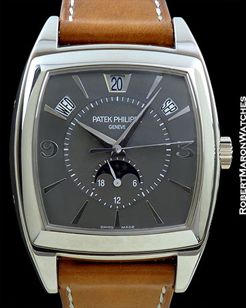 PATEK PHILIPPE 5135G 18K WHITE GOLD AUTOMATIC ANNUAL CALENDAR