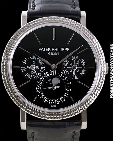 PATEK PHILIPPE REF 5139 GRAND COMPLICATION 18K WHITE GOLD BOX/PAPERS