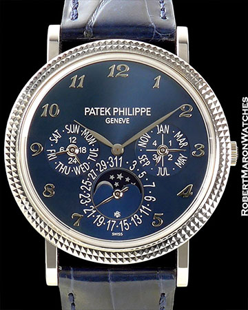 PATEK PHILIPPE REF 5139 G GRAND COMPLICATION 18K WHITE GOLD NEW BOX/PAPERS