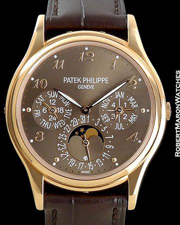 PATEK PHILIPPE 5140 R PERPETUAL CALENDAR 18K ROSE GOLD NEW BOX/PAPERS