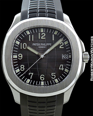 PATEK PHILIPPE REF 5167 AQUANAUT STAINLESS STEEL AUTOMATIC BOX/PAPERS