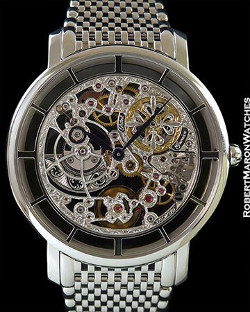 PATEK PHILIPPE 5180/1G SKELETON ULTRA THIN 18K WHITE GOLD AUTOMATIC
