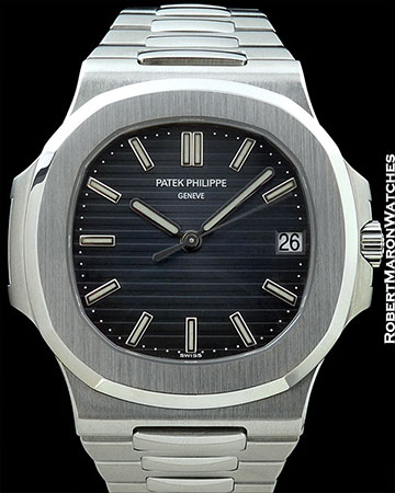 PATEK 5711/1A STEEL NAUTILUS NEW BOX PAPERS