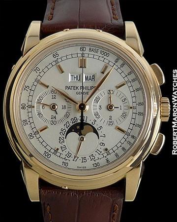 PATEK PHILIPPE 5970 R PERPETUAL CALENDAR CHRONOGRAPH 18K ROSE GOLD