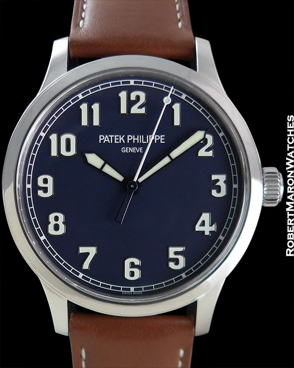 PATEK PHILIPPE 5522A LIMITED EDITION PILOT'S WATCH STEEL 42mm