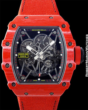 RICHARD MILLE RM 35-02 RAFAEL NADAL AUTOMATIC BOX/PAPERS