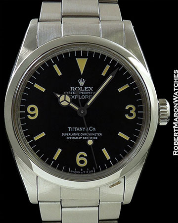 ROLEX TIFFANY 1016 EXPLORER