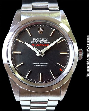 ROLEX 1019 MILGAUSS ANTI-MAGNETIC AUTOMATIC STEEL