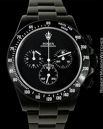 ROLEX 116520 DAYTONA BAMFORD BLACK STEEL NEW