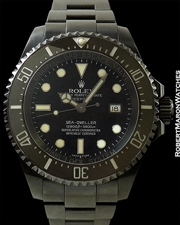 "ROLEX 116600 DEEP SEA SEA-DWELLER BLACK ""X"" SAM SIMON PROVENANCE"