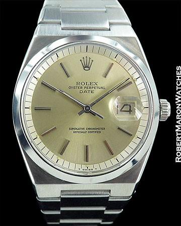 ROLEX 1530 DATE AUTOMATIC STEEL 1977