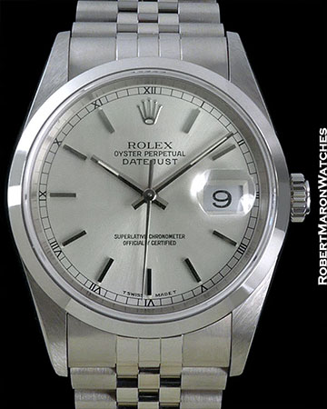 ROLEX 16200 DATEJUST HARDROCK HOTEL STAINLESS STEEL BOX PAPERS