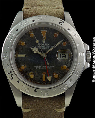 ROLEX 16570 EXPLORER II TRANSITIONAL