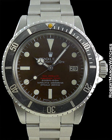 ROLEX 1665 DRSD Mk2 TROPICAL GHOST