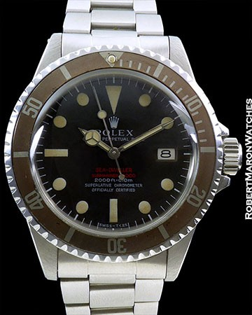 ROLEX 1665 Mk 2 THIN CASE TROPICAL