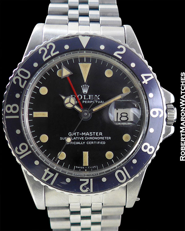 "ROLEX REF 1675 GMT ""BLACKBERRY"" CIRCA 1969"