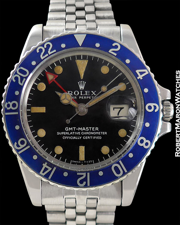 "ROLEX 1675 GMT ""BLUEBERRY"" CIRCA 1975"