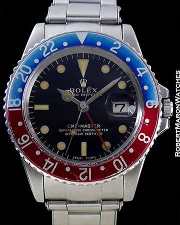 ROLEX 1675 GMT PEPSI