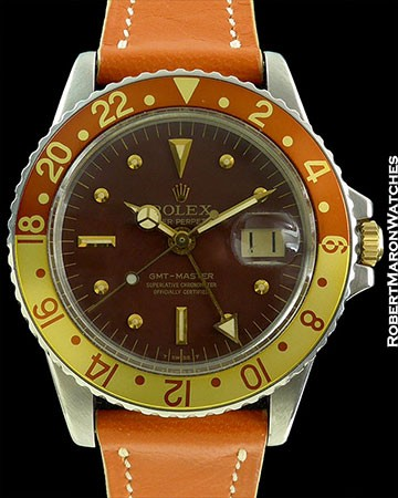 ROLEX 1675 ROOTBEER GMT