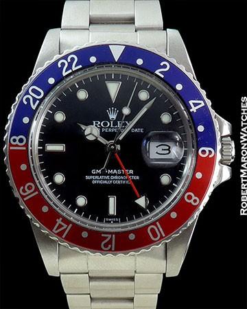 ROLEX 16750 GMT PEPSI