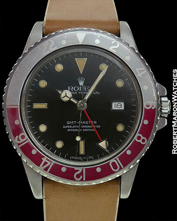 ROLEX 16750 GMT TRANSITIONAL PEPSI