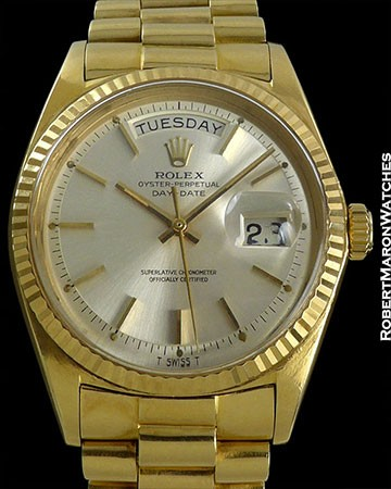 ROLEX 1803 DAY DATE B/P UNPOLISHED