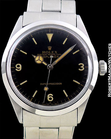 ROLEX 5500 GILT GLOSS EXPLORER BOYS